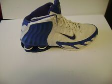 huge discount a62f6 6d033 Nike Shox Carolina Blue University Tar Heels Size 7.5 Lethal Zoom 2005  Trainer