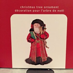 HALLMARK Keepsake FATHER CHRISTMAS 2020 Ornament New SHIP FREE 17th in Series