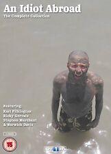 AN IDIOT ABROAD Complete BBC TV Series DVD Collection Season 1 2 3 Boxset