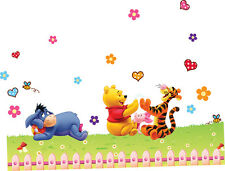 Removable Winnie The Pooh Wall Sticker Vinyl decals For Nursery Baby Room Decor