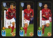 Panini Sticker Fifa 365 2017 Nr. 663a Bowen Huang 663b Lin Gao 663c Ricardo Goul