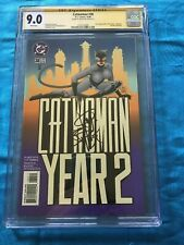 Catwoman #38 - DC - CGC SS 9.0 - Signed by Jim Balent - Batman