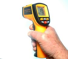 GM700 Infrared Thermometer Hand Held Digital Instrument with battery & hard case