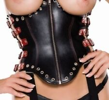 Glamour Zip Basques & Corsets for Women with Underbust