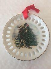 Flambro Emmett Kelly Collectors Christmas Ornaments 1995