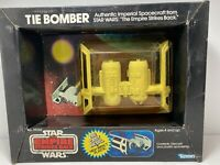 RARE 1980 Star Wars TIE BOMBER  Die-cast, By Kenner Sealed Bubble