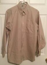 Geoffrey Beene Men's Beige Wrinkle Free Shirt 15 1/2,  32/33.