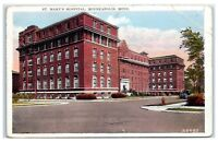 Early 1900s St. Mary's Hospital, Minneapolis, MN Postcard