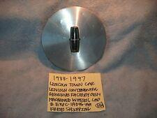 1988-1997 LINCOLN CONTINENTAL TOWN CAR MACHINED WHEEL CENTER CAP E80C-1A096-AA