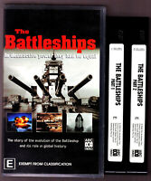 The Battleships (2001) DOUBLE VHS VIDEO TAPE VINTAGE