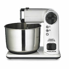 Morphy Richards 400405 Total Control Folding Stand Mixer 300 Watts White