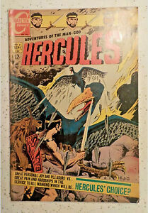 Hercules #6 ! CHARLTON 1968 ! DEATH-BIRDS ! NICE PAGES ! hayfamzone