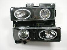 89-97 HEADLIGHTS DUAL HALO Chevy TRUCK SILVERADO C2500 K2500 C/K SIERRA TAHOE