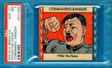 1940 R34 W.H. Brady Co. Commando - Ranger #CR-61 Hitler the Hater Psa 7
