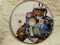 Madden NFL 08 (Sony PlayStation 3, 2007) Disc Only