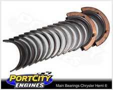Main Bearing set for Chrysler Hemi 6 215 245 265 Valiant Charger Centura 7M4644