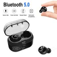 Wireless Headphones TWS Mini True bluetooth Bass Stereo Earphones In-Ear Headset