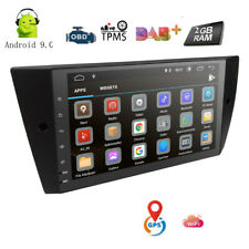 "9"" Android 9.0 Car Stereo GPS Radio DAB+ BMW 3 Series E90 E91 E92 E93 320i 330i"