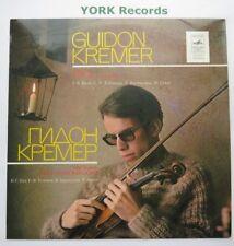 CM 03573-4 - GUIDON KREMER - Music For Solo Violin - Melodiya - Ex Con LP Record
