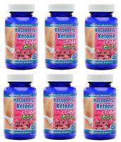 6X MaritzMayer Raspberry Ketone Lean Advanced Weight Loss Supplement 60 Capsules