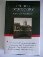 Crime And Punishment a novel by Fyodor Dostoevsky (Hardcover) LB24