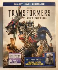 TRANSFORMERS: AGE OF EXTINCTION Blu-ray/ DVD/ Digital/ Limited Edition Bag NEW!!