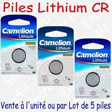 Pile Bouton CR Lithium 3V CR2320 CR2325 CR2330 vendue à l'unité ou par lot de 5