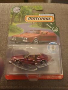 Matchbox '83 Buick Riviera Convertible DIECAST [Moving Parts]  New Sealed 2020