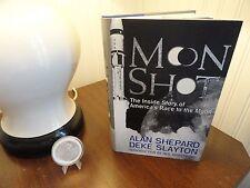 "Alan Shepard Signed-Book ""Moon Shot"" First-Edition Third-Printing"