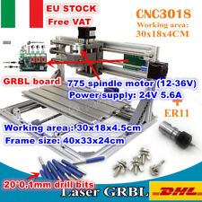 【IT】3 Axis 3018 GRBL Control DIY Mini Laser Machine Engrave Milling+ER11 Collet