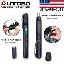 Auto Brake Fluid Oil Tester Detection Pen LED indicator Car Electronic Test Tool