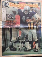 """ NFL Dallas Cowboys Official Weekly Magazine November 30, 1985; Vol. 11, No.24"