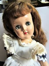 """14 """" Girl Doll  Toni Ideal  american made vintage 1950's"""