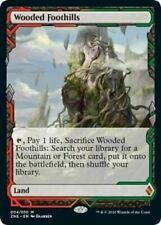 Magic Modern 4x Wooded Foothills - Zendikar Rising Expeditions - Near Mint