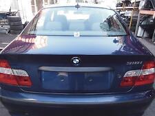 BMW 3 SERIES E46, BOOTLID, SEDAN, 12/99-07/06