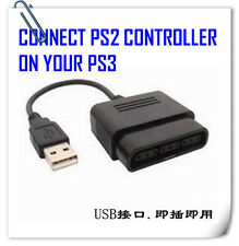 use SONY PS2 Controller on PS3 / PC ! Dualshock Analog Convertor Connector