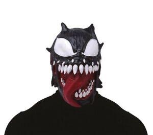 Mask Latex Horror Venom Maschera Lattice Cosplay Venom Guirca Art. One Size
