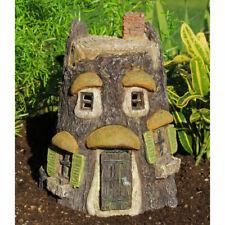 Fairy Garden Owl Cottage w/hinged door - Gnome, Hobbit Nib