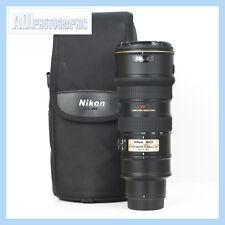 Nikon 70-200mm f2.8G AF-S ED VR Lens