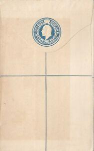 STRAITS SETTLEMENTS 1904 ISSUE POSTAL STATIONERY ENVELOPE  UNUSED