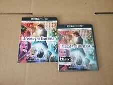 Across the Universe: w/RARE OOP Slipcover (4K Ultra HD & Blu-ray) No Code