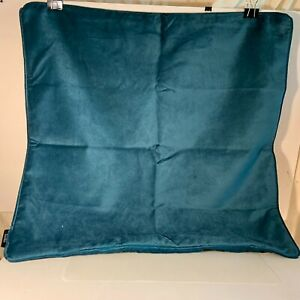 """Throw Pillow Cover Turquoise Colored 23"""" Square McAlister Textiles NWOT"""