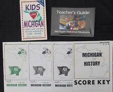 Kids Love Michigan guidebook museums history of Michigan home school supplements