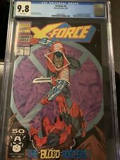 X-Force 2 1991 CGC 9.8 2nd appearance Deadpool! Moving Coming! 1st Weapon K Kane