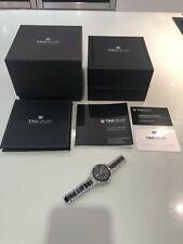 Tag Heur Ladies Black Ceramic Watch With 60 Stone 0.34 Carat Bezel