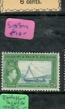 GILBERT & ELLIS ISLANDS  (PP2308B)  KGVI  2/6      BOAT  SG 53   MOG