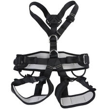 Full Body Harness Seat Belt Sit Bust for Outdoor Rock Climbing Rappelling