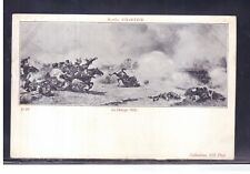 Cartolina Chartier Cavalleria alla Carica 1870 K2987