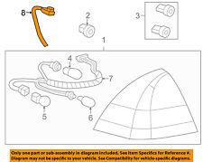 Chevrolet GM OEM 06-13 Impala Taillight Tail Light Lamp Rear-Harness 10348632