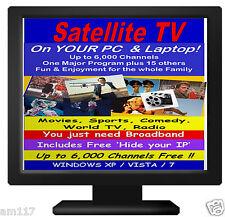 FREE 6,000+ Channels Watch Intenet TV Free on PC Computers Laptops